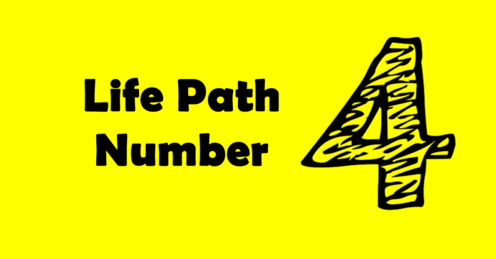 life path number 4